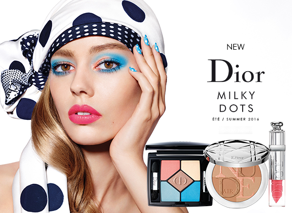 nouvelle collection maquillage milky dots de dior summer été 2016